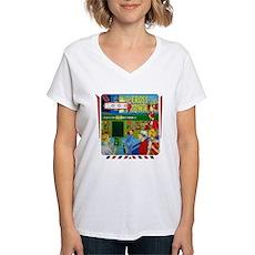 """Gottlieb® """"Cross Town"""" Women's V-Neck T-Shirt"""