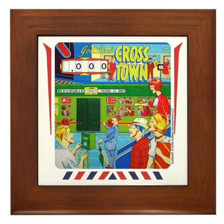 "Gottlieb® ""Cross Town"" Framed Tile"