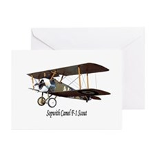 Sopwith Camel Scout Greeting Cards (Pk of 10)