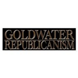 Cool Political Goldwater Republicanism