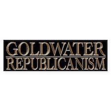 Cool Political Goldwater Republicanism