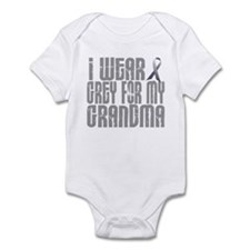 I Wear Grey For My Grandma 16 Infant Bodysuit