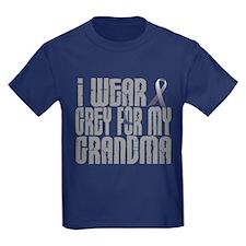 I Wear Grey For My Grandma 16 T