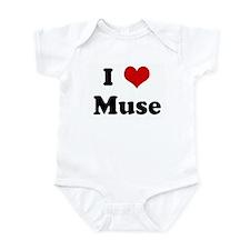 I Love Muse Infant Bodysuit