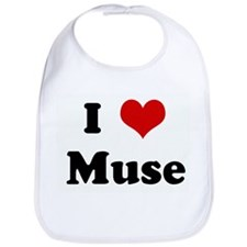 I Love Muse Bib