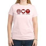 Peace Love Nursing T-Shirt