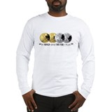 In Gold & Silver I Trust Long Sleeve T-Shirt