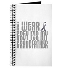 I Wear Grey For My Grandfather 16 Journal