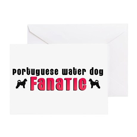 Portuguese Water Dog Fanatic Greeting Card