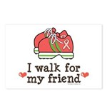 Breast Cancer Walk Friend Postcards (Package of 8)
