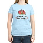 Breast Cancer Walk Friend Women's Light T-Shirt