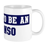 Proud to be Alonso Small Mug