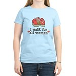 Breast Cancer Walk Women Women's Light T-Shirt