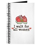 Breast Cancer Walk Women Journal