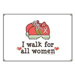 Breast Cancer Walk Women Banner