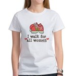 Breast Cancer Walk Women Women's T-Shirt