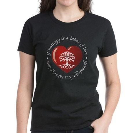 Labor Of Love Women's Dark T-Shirt