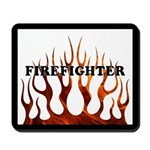 Firefighter Tribal Flames Mousepad
