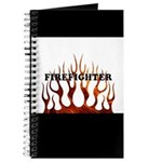 Firefighter Tribal Flames Journal
