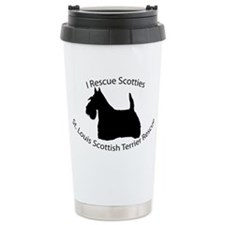 ST LOUIS SCOTTIE RESCUE Ceramic Travel Mug