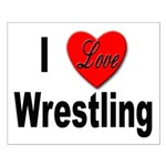 I Love Wrestling Small Poster
