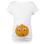 Mrs. Pumpkin Belly Print Maternity T-Shirt