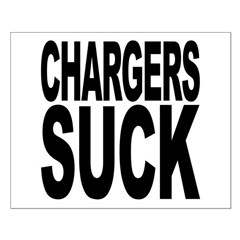 Chargers Suck Posters