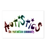 The Real Autism Community Postcards (Package of 8)