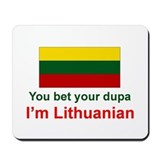 Lithuanian Dupa Mousepad