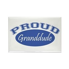 Proud Granddude Rectangle Magnet