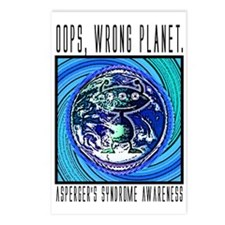 Wrong Planet Postcards (Package of 8)