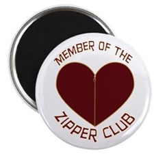 Zipper Club Magnet