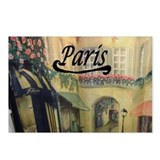 Paris Streets Postcards (Package of 8)