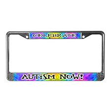 Celebrate the Spectrum License Plate Frame