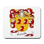 Lamotte Family Crest Mousepad