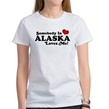 Somebody in Alaska Loves me Tee