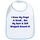 Aunt Wrapped Around Finger - Bib
