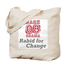 Rabid for Change Tote Bag
