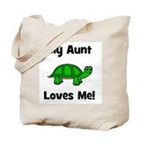 My Aunt Loves Me! Turtle Tote Bag