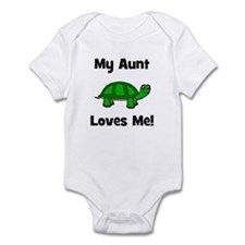 My Aunt Loves Me! Turtle Infant Bodysuit