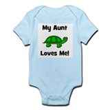 My Aunt Loves Me! Turtle Onesie