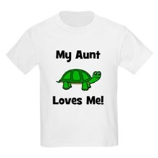My Aunt Loves Me! Turtle T-Shirt