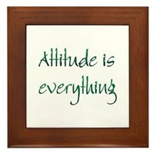 Attitude Framed Tile
