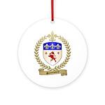 SANSOUCY Family Crest Ornament (Round)