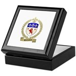 SANSOUCY Family Crest Keepsake Box