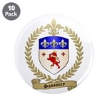 "SANSOUCY Family Crest 3.5"" Button (10 pack)"