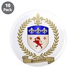 """SANSOUCY Family Crest 3.5"""" Button (10 pack)"""