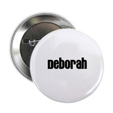 "Deborah 2.25"" Button (10 pack)"