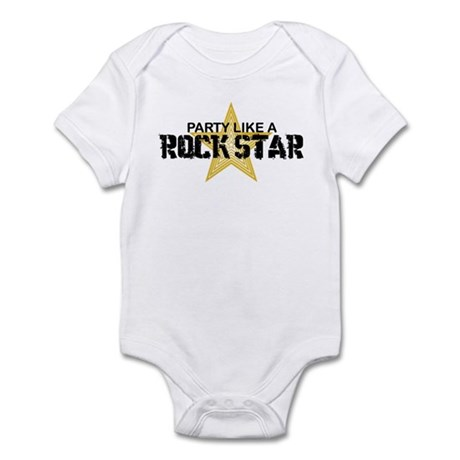 Party Like a Rock Star Infant Bodysuit