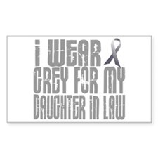 I Wear Grey For My Daughter-In-Law 16 Decal